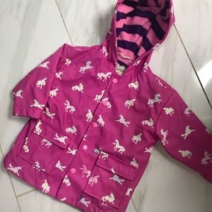 🦄 HATLEY LINED COLOR CHANGING RAIN COAT SIZE 2